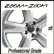 MAZDA ZOOM-ZOOM CAR WHEEL DECALS